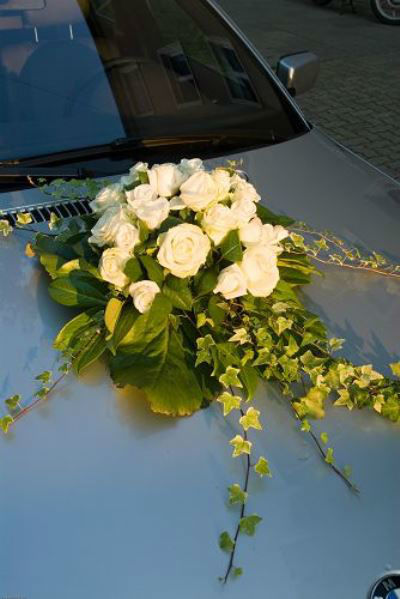 Beispiel: Autoschmuck, Foto: die kornblume.