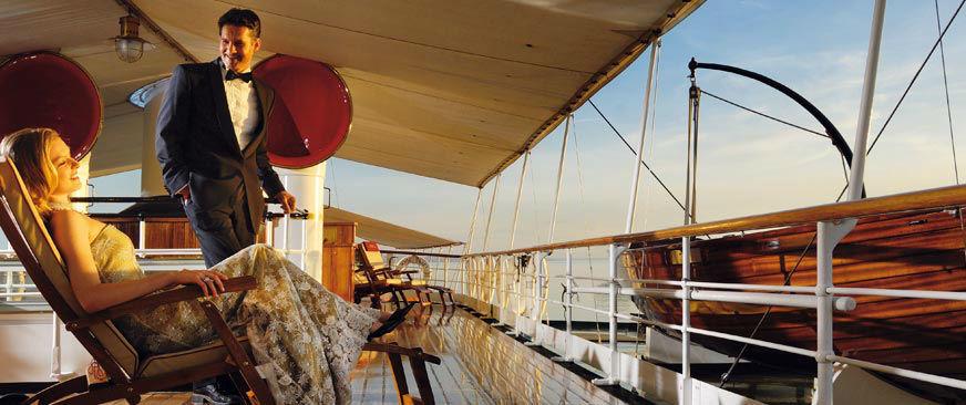 Beispiel: Atmosphäre, Foto: Hohentwiel Schifffahrtsgesellschaft.
