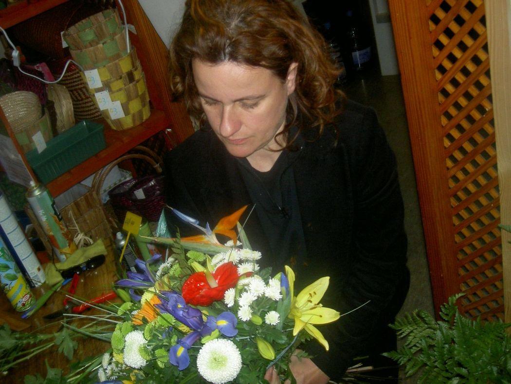 cati isern. Maestra florista. Especialista en Nupcial.