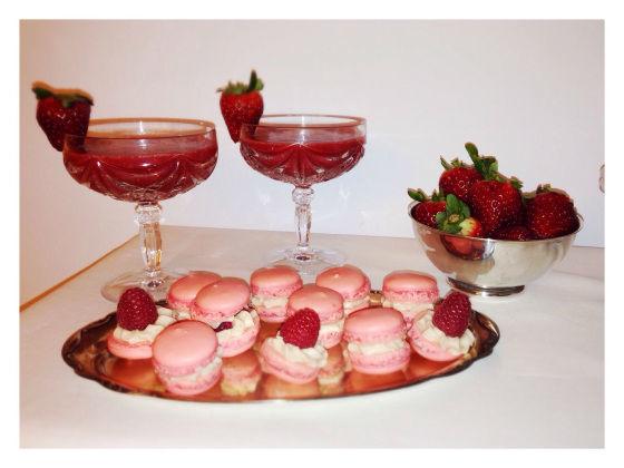 Beispiel: Makronen, Foto: Mistress Cake.