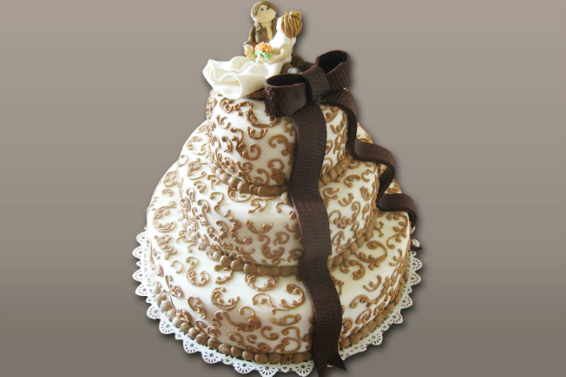 Torty weselne z cukierni Jagódka
