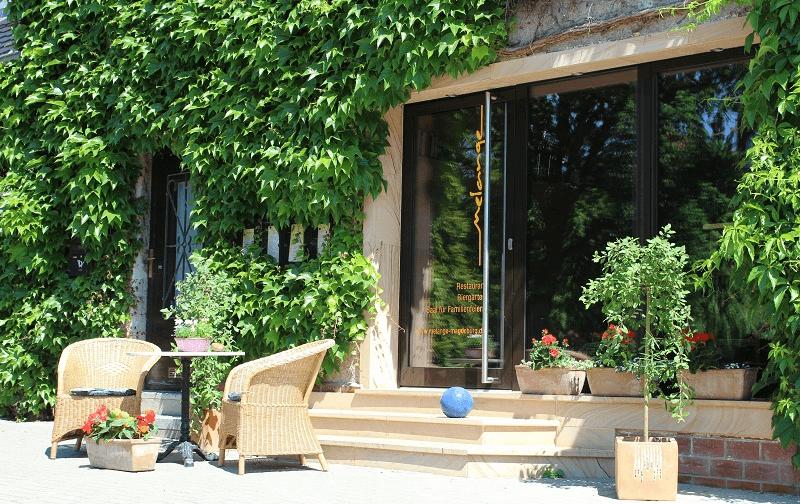 Beispiel: Eingangsbereich, Foto: Mélange - Restaurant und Café.