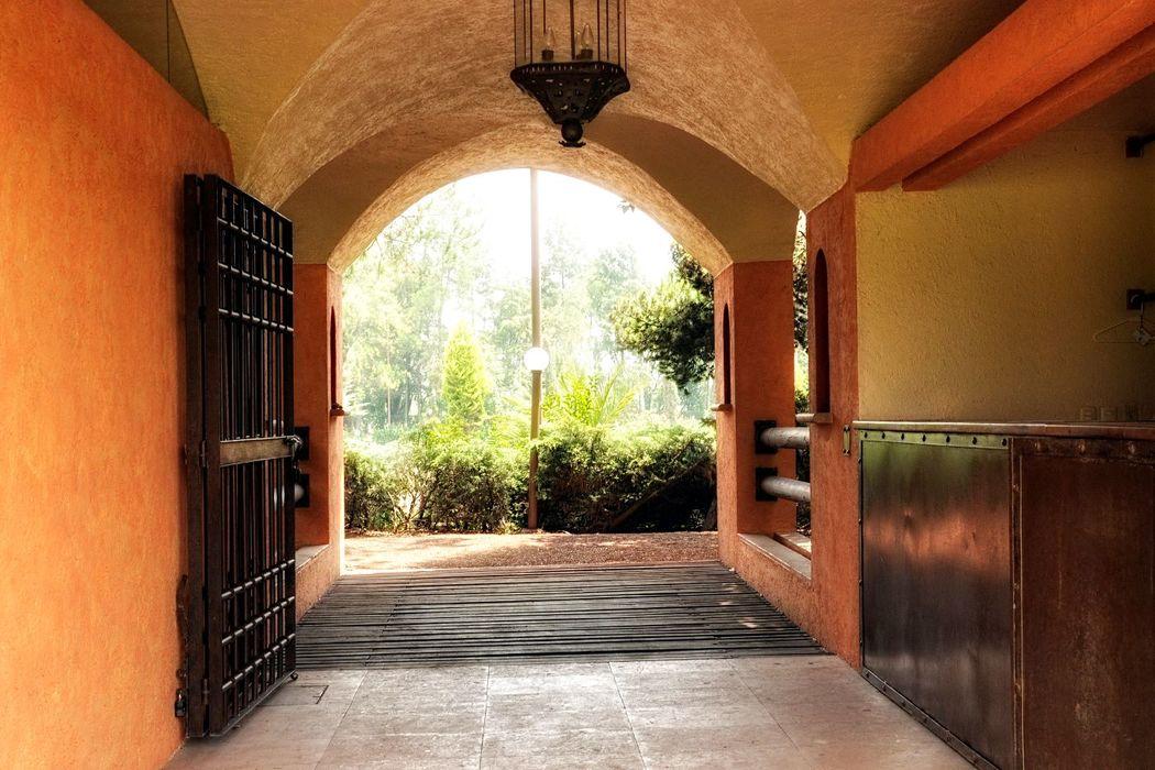 Entrada Principal Jardín Ahuehuetes.