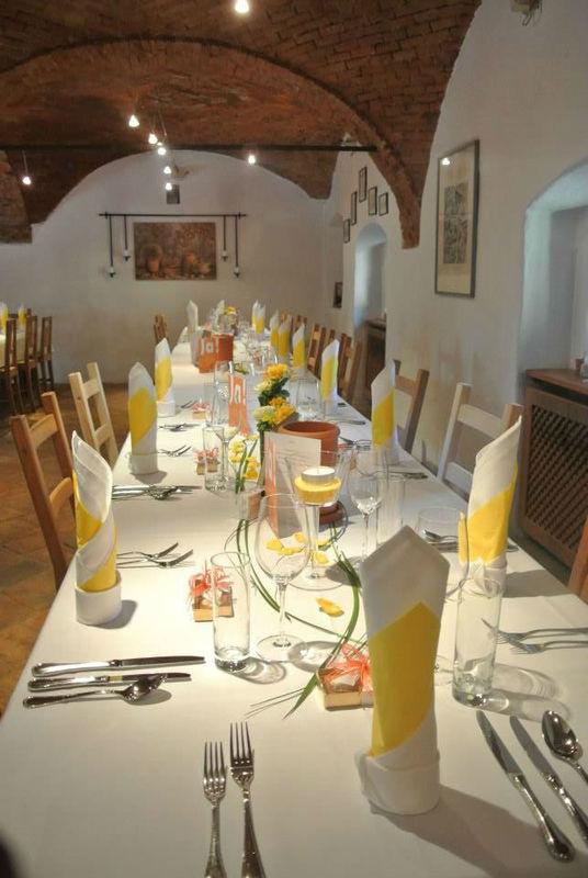 Beispiel: Hochzeitstafel, Foto: Fest & Gast Catering.