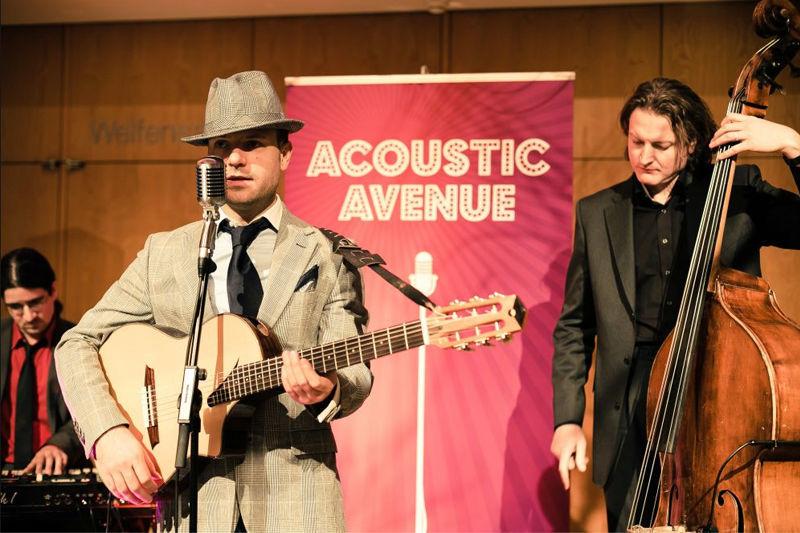 Beispiel: Auftritt, Foto: Acoustic Avenue.