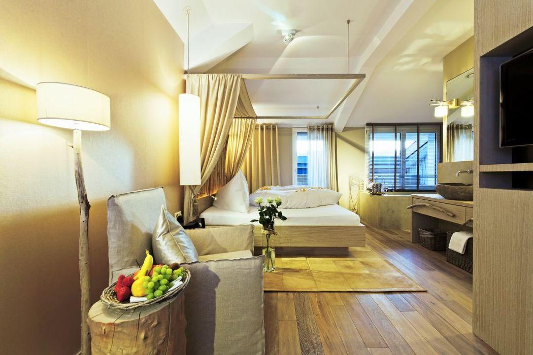 Beispiel: Hotelzimmer, Foto: Seerose Resort & Spa.