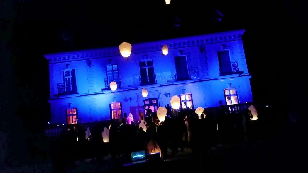 Habillage lumière extérieur Château