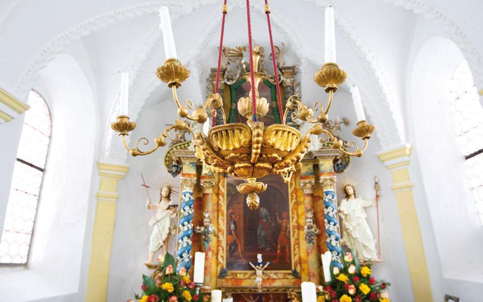 Beispiel: Kapelle, Foto: Jagdschloss Kühtai.