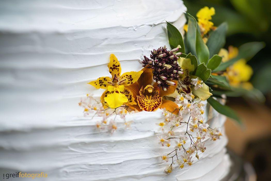 Vintage Cake Orchid - Mansão das Heras