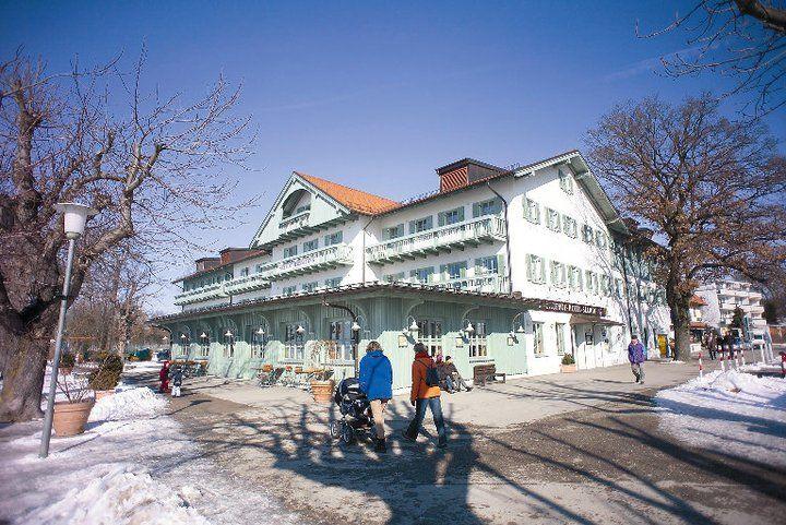 Beispiel: Seehof im Winter, Foto: Hotel Seehof Herrsching.