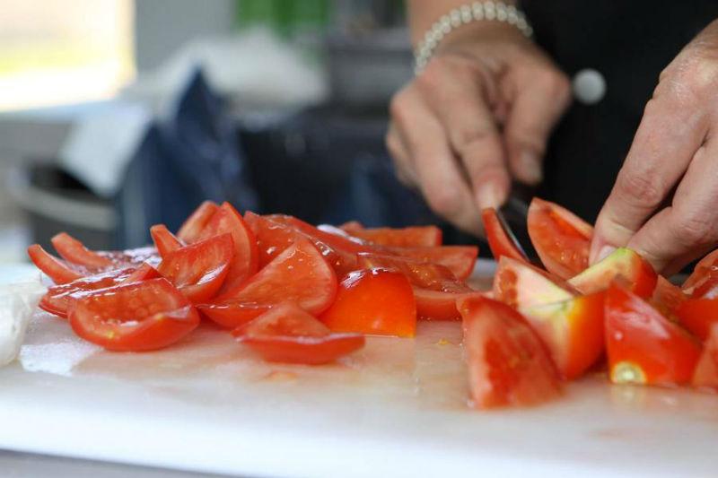 Beispiel: Frisch zubereitete Speisen für Ihre Hochzeit, Foto: Golden Catering.