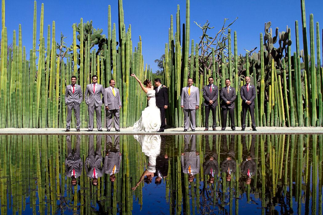 Fotos de boda, damas en Oaxaca