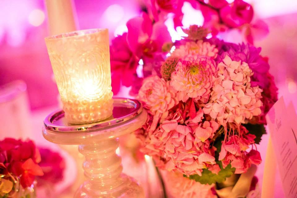 Beispiel: Hochzeitsdekoration, Foto: Kursalon Mödling.