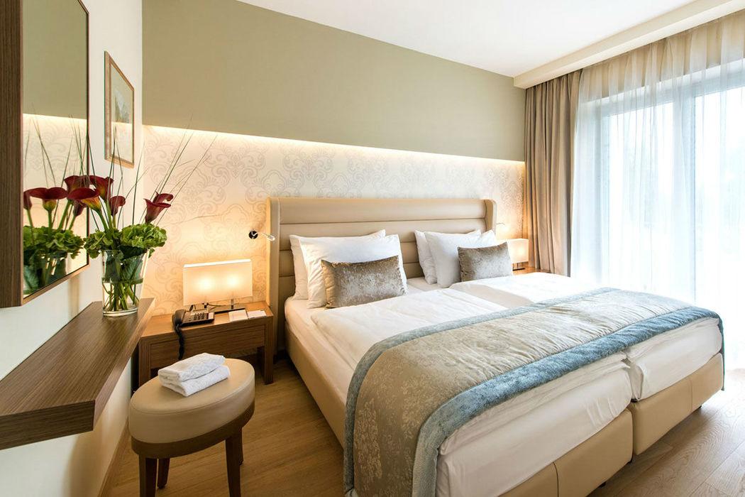 Beispiel: Hotelzimmer, Foto: Warmbaderhof.