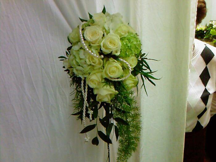 Beispiel: Brautstrauß, Foto: Blumen G. Bechstein.