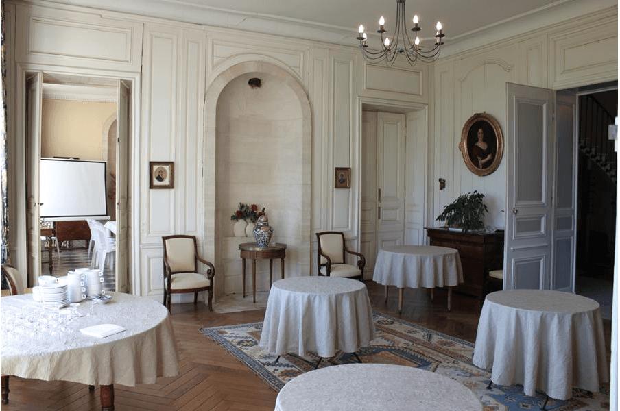 Salon du Château de Martragny