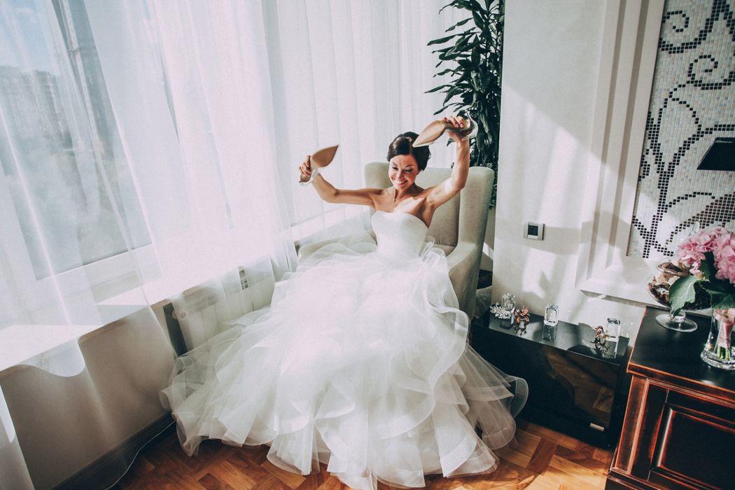 Утро невесты. Свадебный фотограф Марина Назарова.