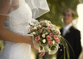 Beispiel: Hochzeitsstrauss, Foto: Weisse Villa.
