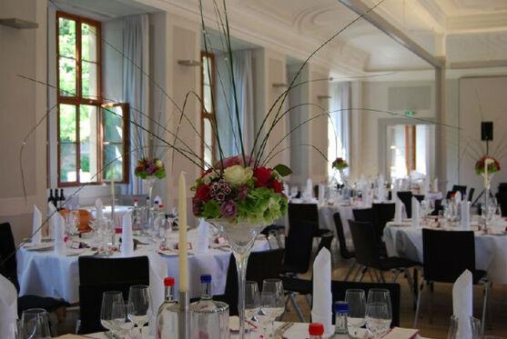 Beispiel: Hochzeitsdekoration, Foto: manufactura florale.
