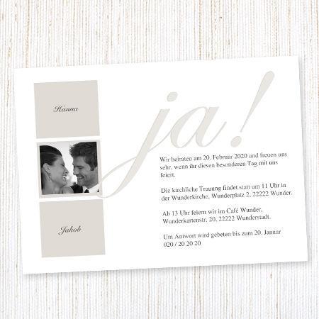 Einladungen von Wunderkarten Foto: wunderkarten.de