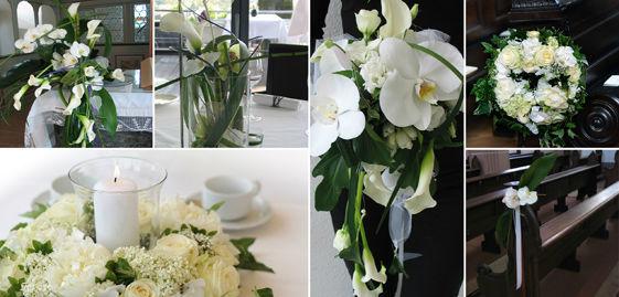 Beispiel: Kunst mit Blumen, Foto: Florentina Schiller Dekoration & Design.
