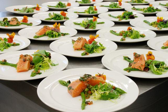 Beispiel: Gastronomie, Foto: Gourmet- u. Eventservice Da Gianni.