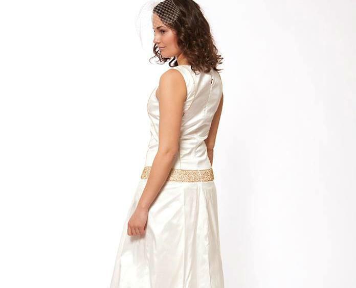Beispiel: Wunderschöne Kleider für die Braut, Foto: JAAP Brautmode.