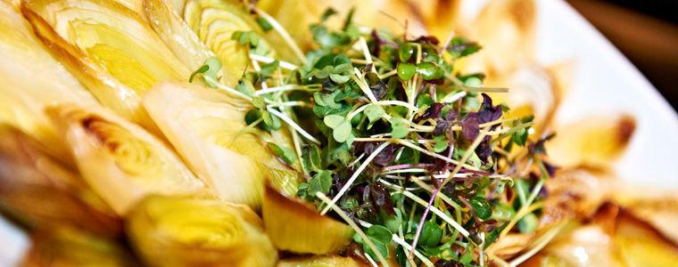 Beispiel: Gemüsegericht, Foto: Kuffler Catering.