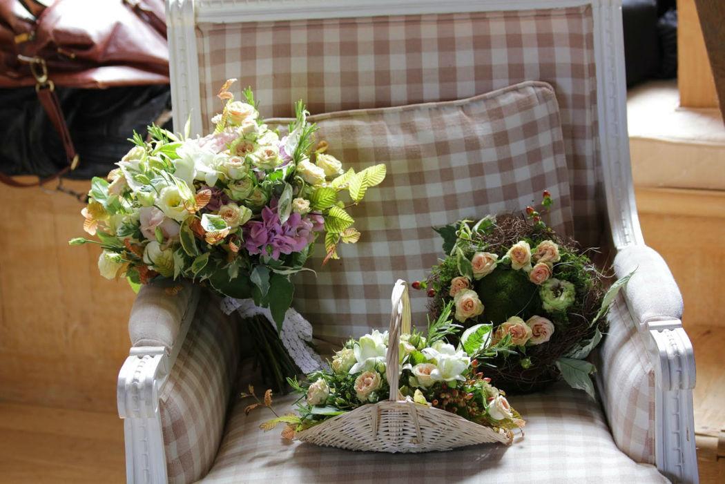 bouquet champêtre romantique fleursdefamille.com mariage périgueux wedding