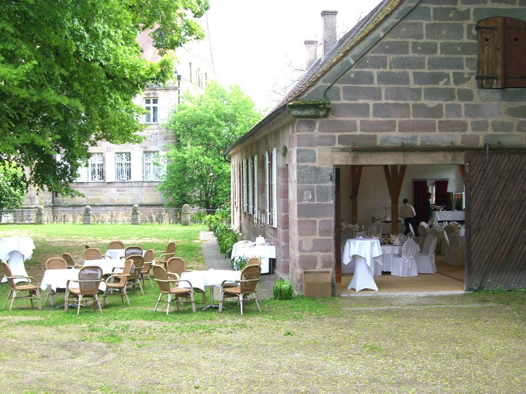 Beispiel: Schlossgarten - Remisensaal, Foto:  GenussRäume der SchulerGruppe - Schloss Dürrenmungenau.