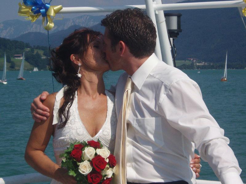 Beispiel: Der Kuss, Foto: Mondsee Schifffahrt.