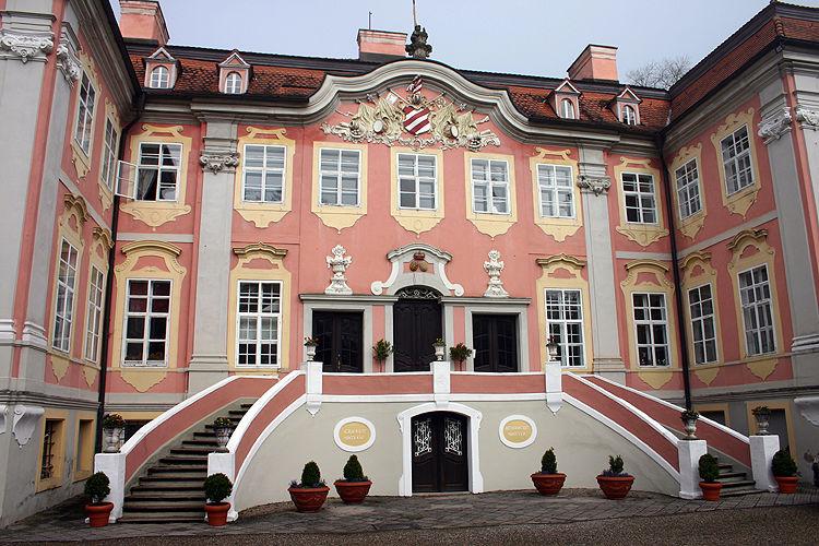 Beispiel: Treppenaufgang, Foto: Schloss Assumstadt.