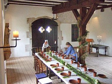 Beispiel: Rittersaal, Foto: Tannenburg.