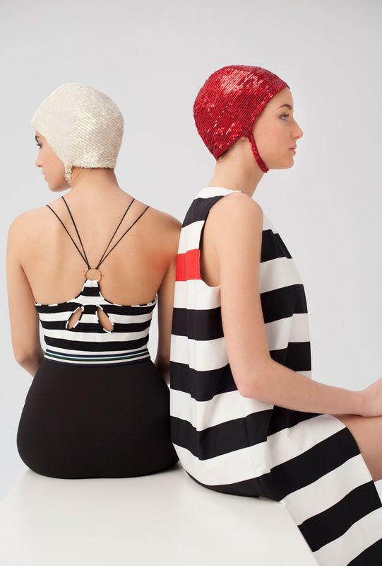 Vestidos de fiesta de Cristina Piña, colección The Swimmer.