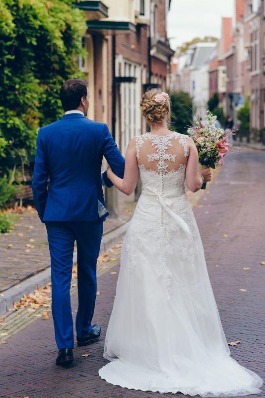 Bruidskapsel Knippenduss Haarlem