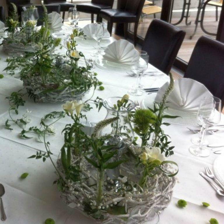 Beispiel: Bankett - Tischdekoration, Foto: Hotel Restaurant Seeterrassen Wandlitzsee.