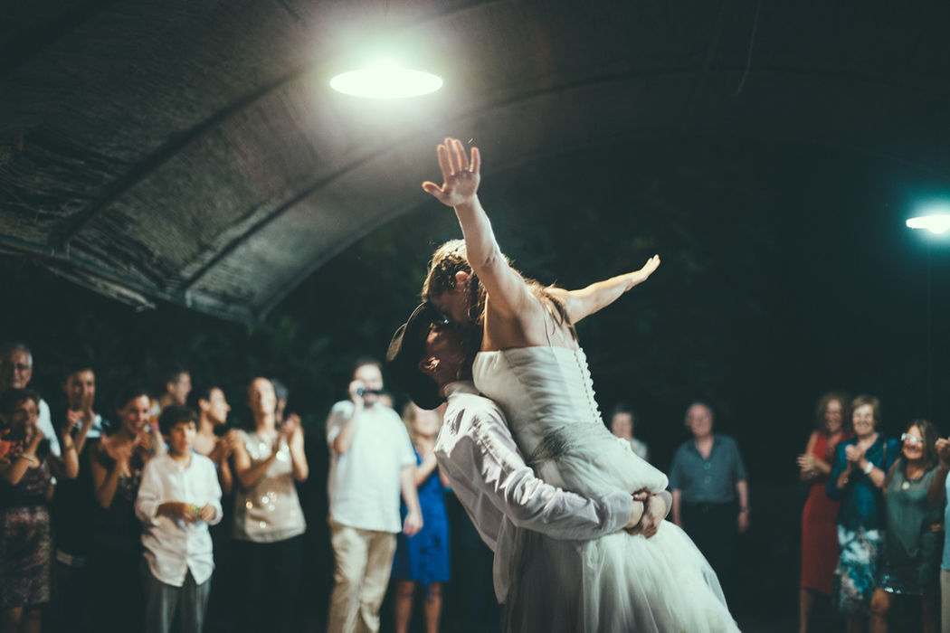 Momento del baile.