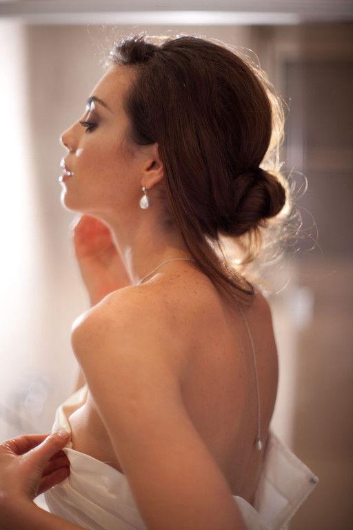 Bijoux Nicole La Bruyère  Boucles d'oreilles Perles de Majorque