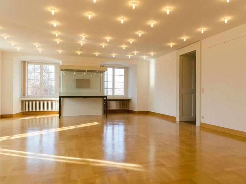 Beispiel: Styrumsaal, Foto: Schloss Bruchsaal.