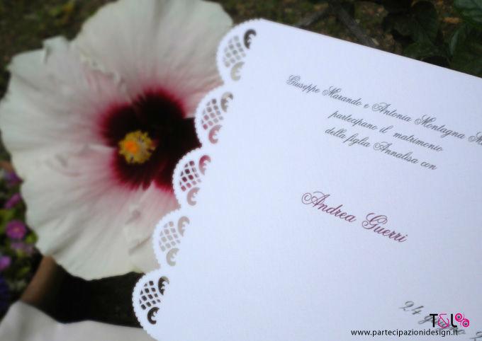 Lace Romantic Suite - Partecipazione Thelma & Louise Wedding Invitations