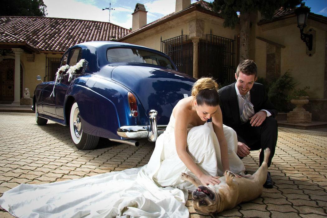 EX030 1961 Rolls Royce Silver Cloud II azul