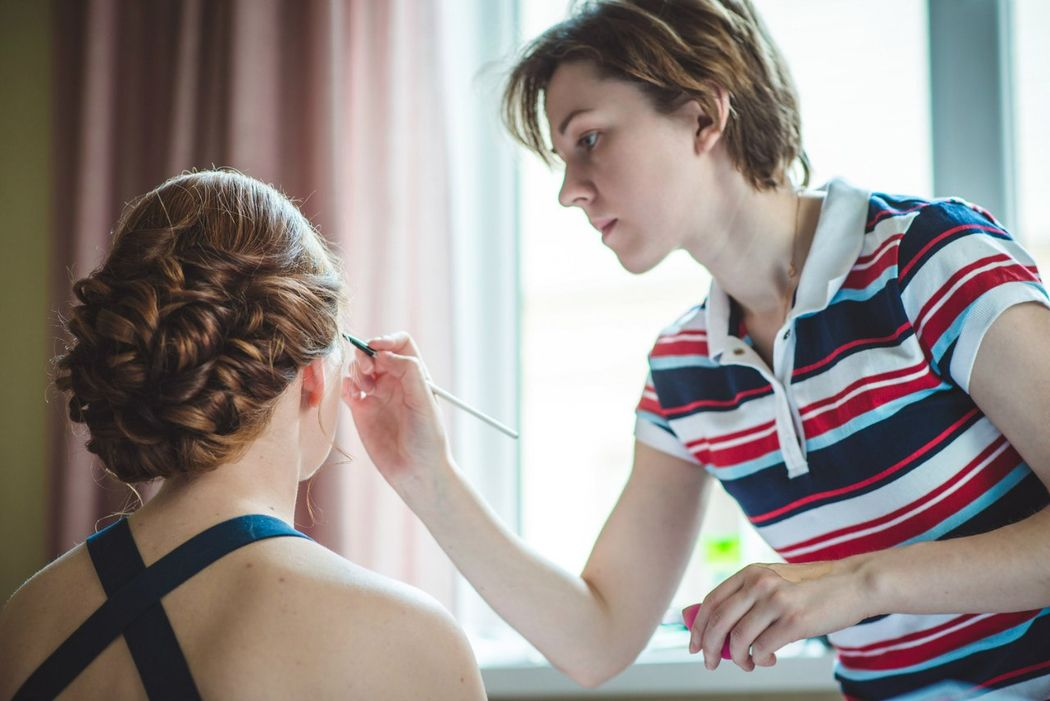 солнечная невеста Ольга макияж и причёска - Нелли Шварц фотограф - Екатерина Седова платье - Нелли Матрусова