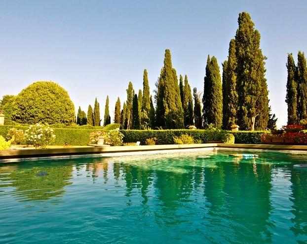 La piscina - Villa Fontarronco