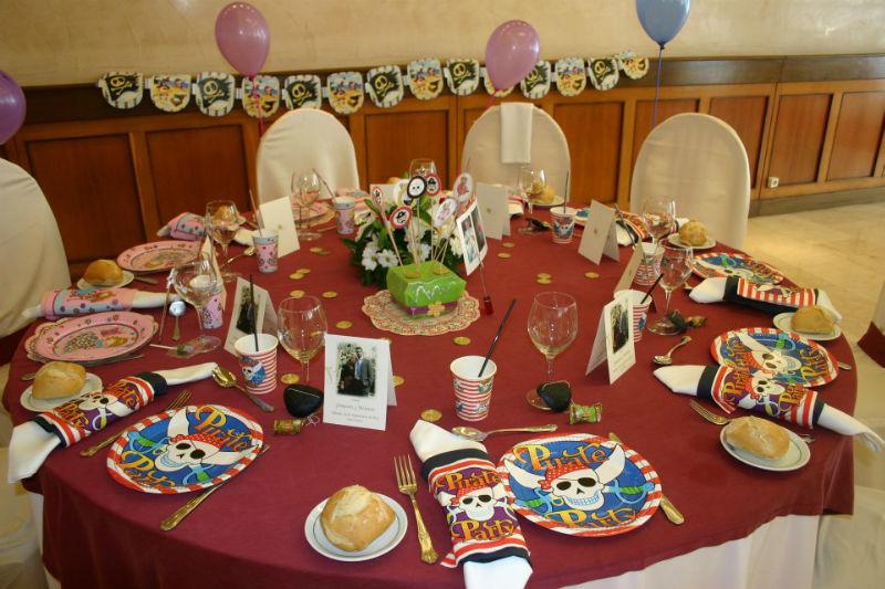Detalle mesa infantil