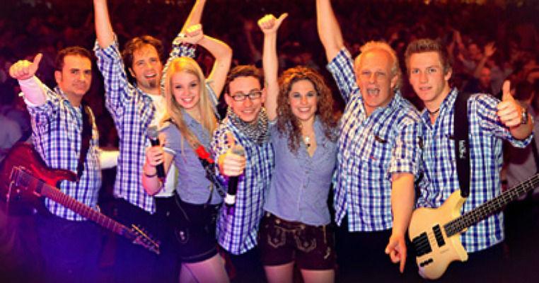 Beispiel: Party-Coverband, Foto: Die Grafenberger.