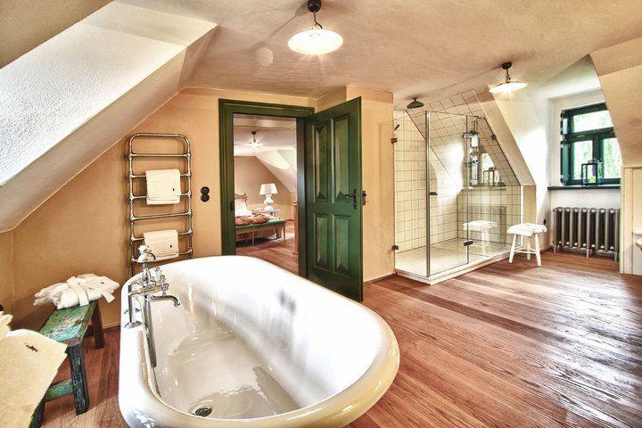 Beispiel: Badezimmer, Foto: Hofgut von Hünersdorff.