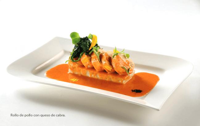 Menú de platos fuertes hechos con ingredientes de calidad - Foto Banquetes Ambrosía