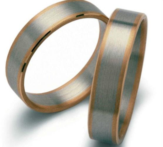 Beispiel: Silberring mit Rotgoldrand, Foto: Seilnacht.