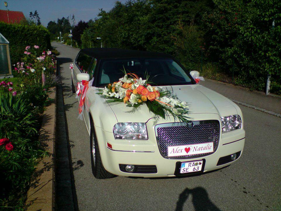 Beispiel: Dekorierte Limousine, Foto: Limo Inc.