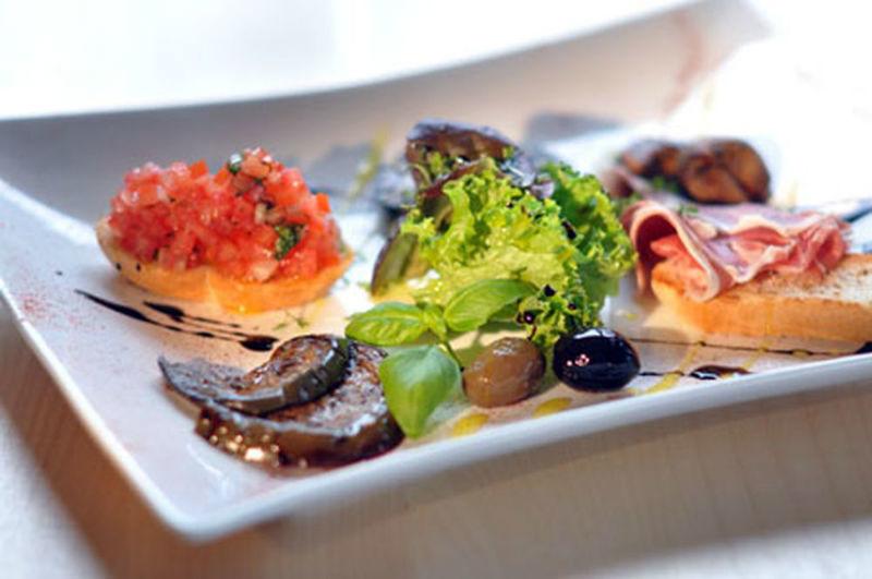 Beispiel: Gastronomie, Foto: Flair Hotel Berggasthof Adersberg.